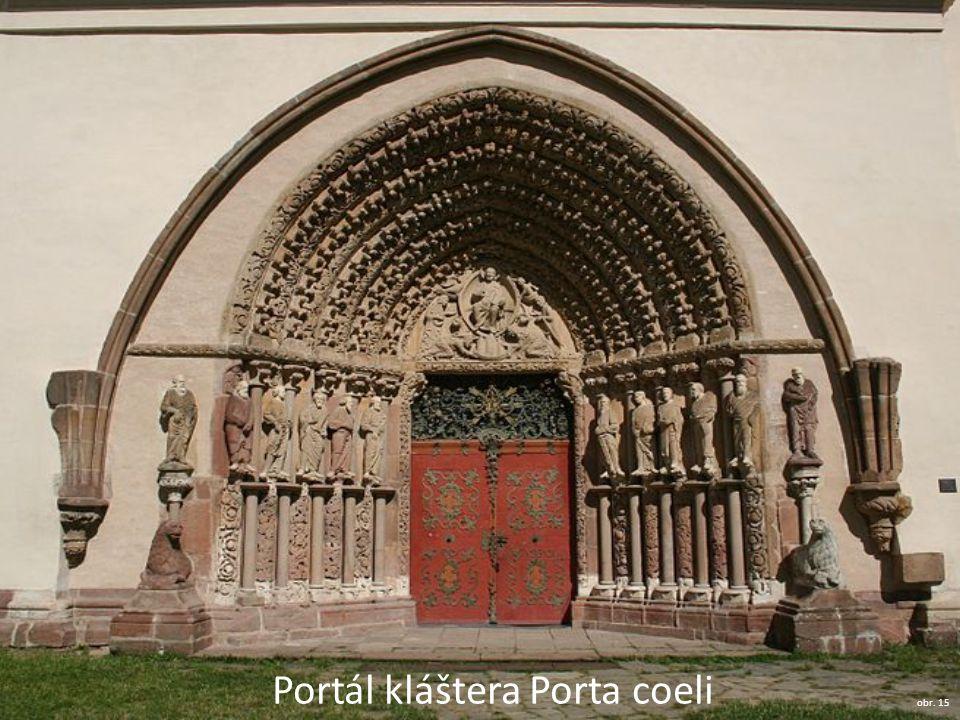 Portál kláštera Porta coeli