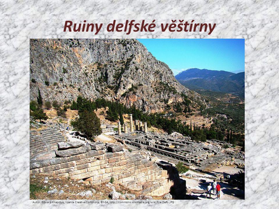 Ruiny delfské věštírny