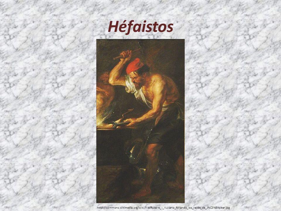 Héfaistos http://commons.wikimedia.org/wiki/File:Rubens_-_Vulcano_forjando_los_rayos_de_J%C3%BApiter.jpg.