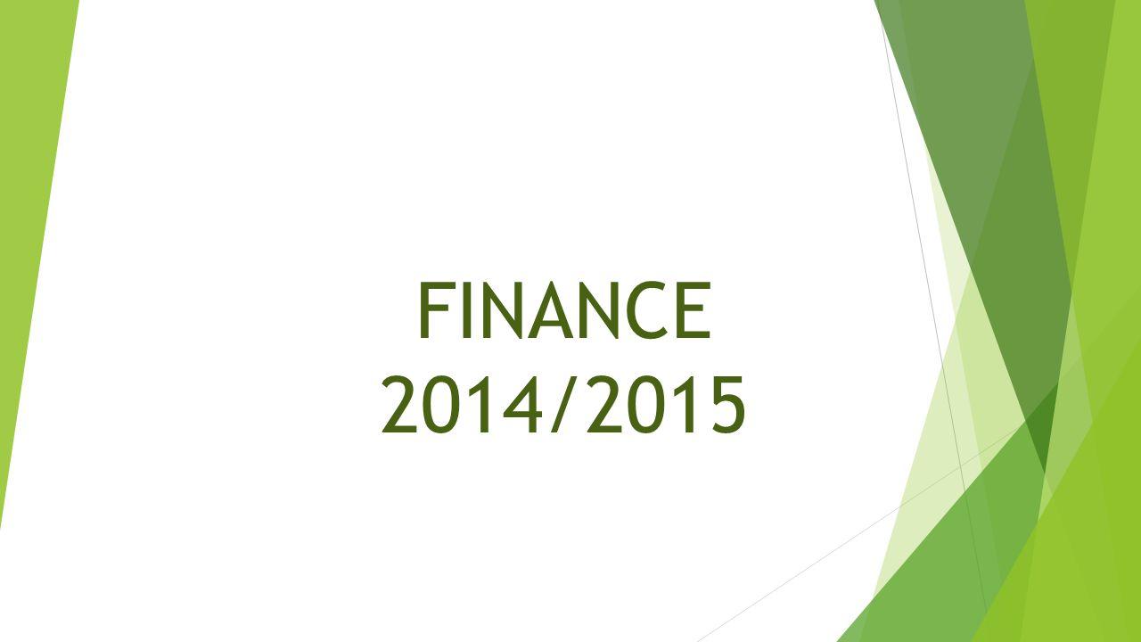 FINANCE 2014/2015