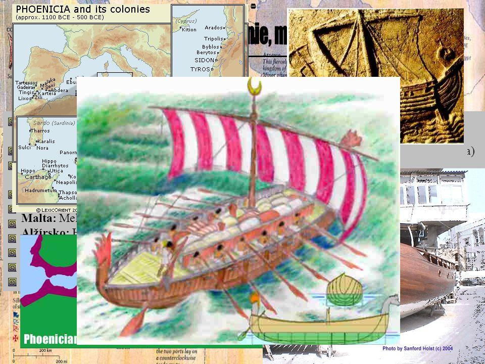 hospodářství - cedrového dřevo, bavlněné oděvy, barevné látky, sklo (čiré), hrnčířské a kovové předměty