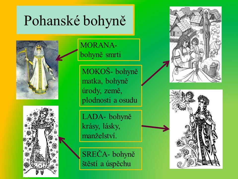 Pohanské bohyně MORANA- bohyně smrti