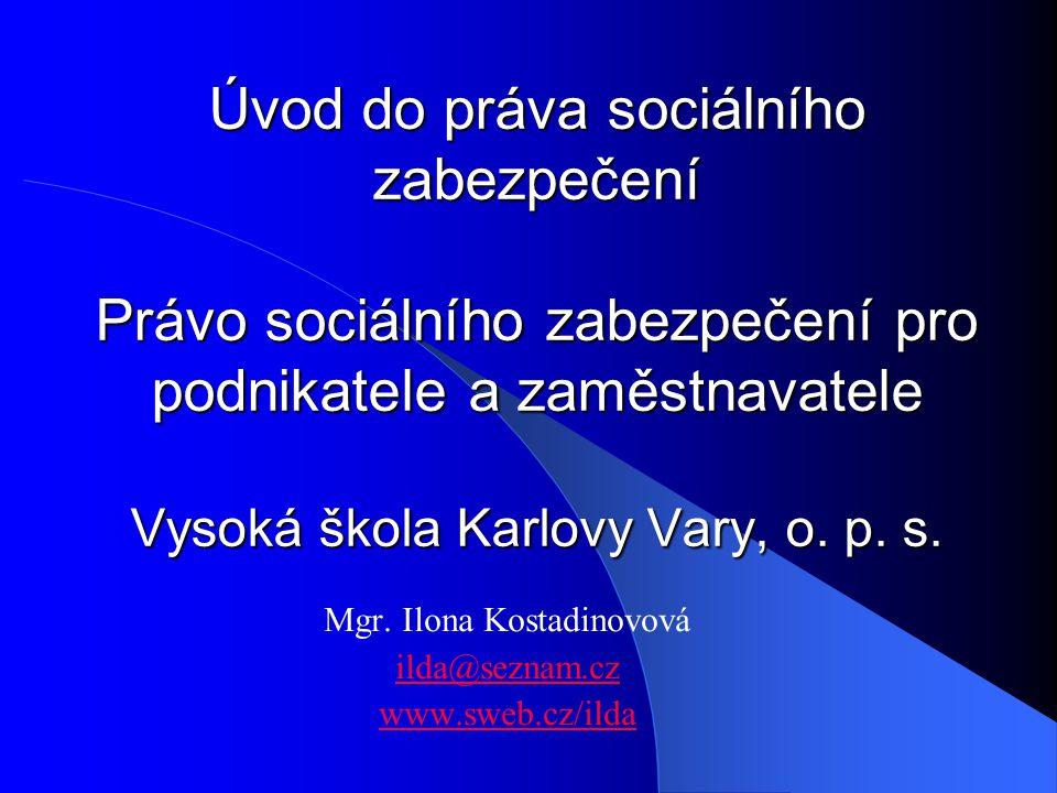 Mgr. Ilona Kostadinovová ilda@seznam.cz www.sweb.cz/ilda
