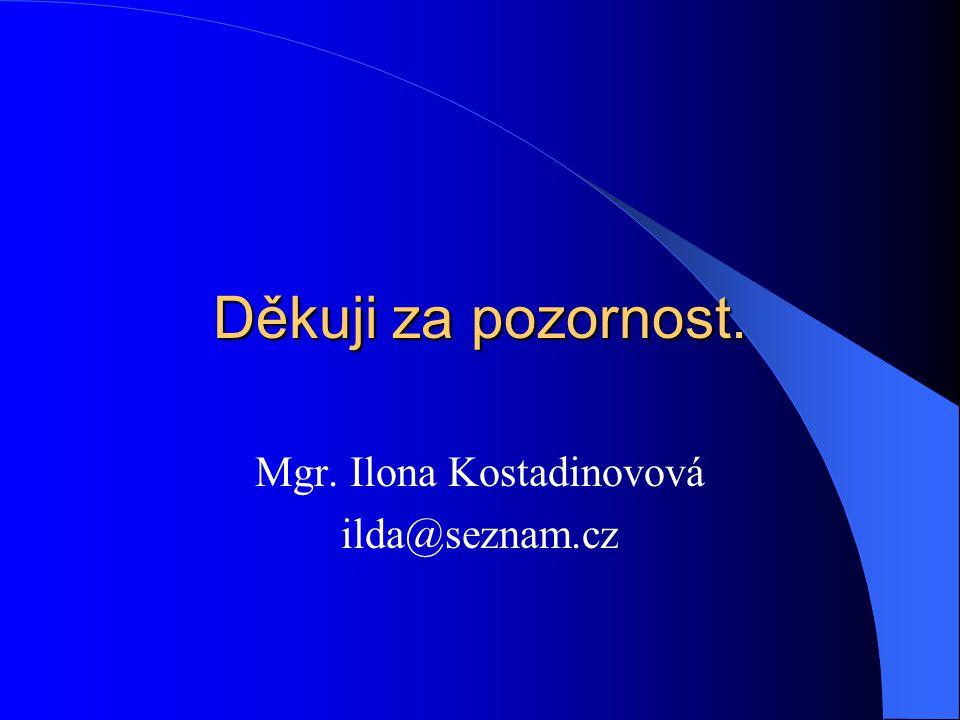 Mgr. Ilona Kostadinovová