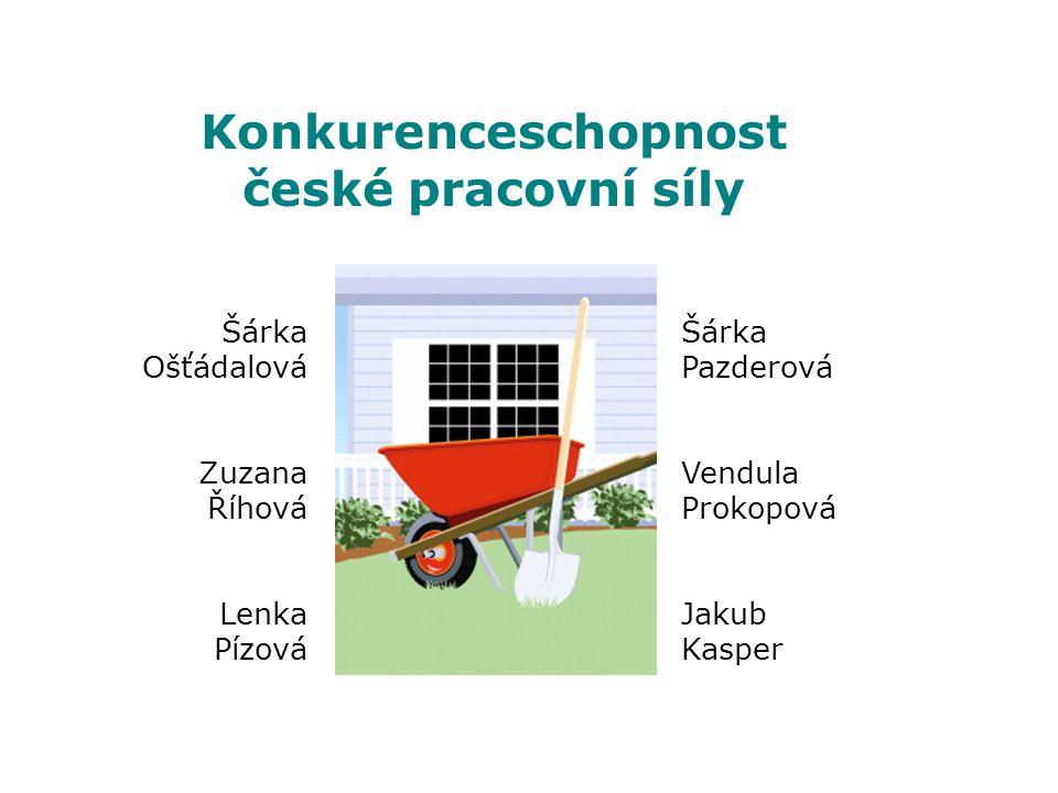 Konkurenceschopnost české pracovní síly