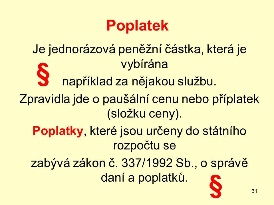 Poplatek