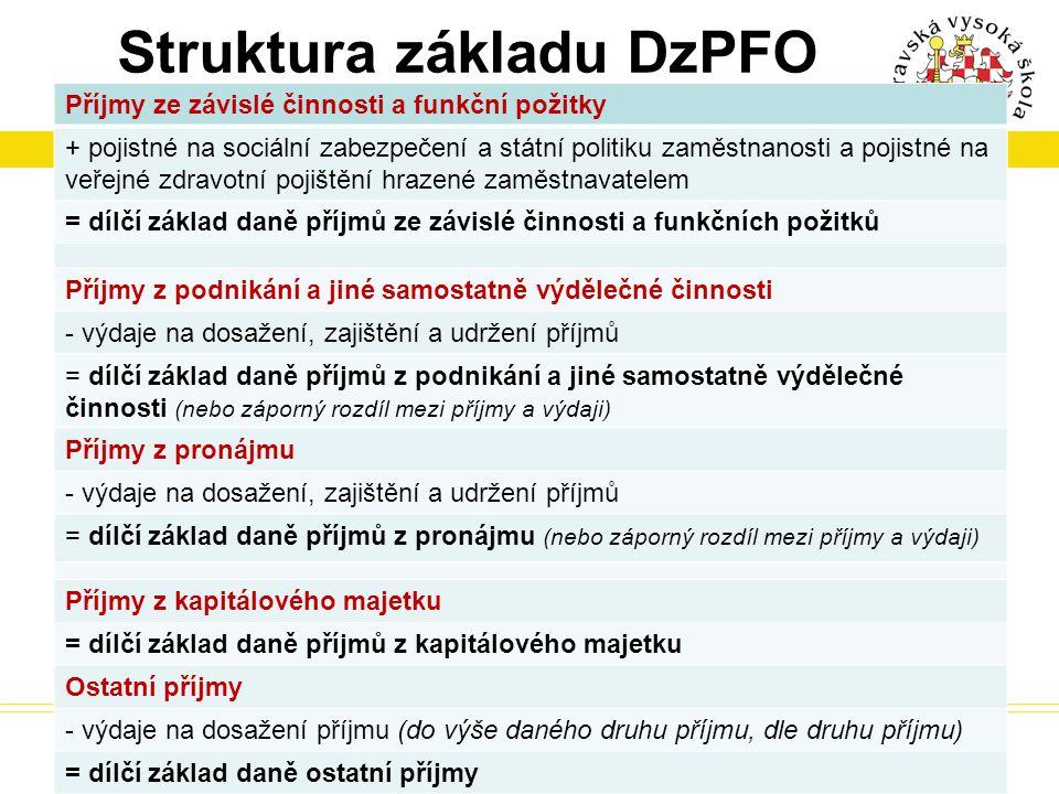 Struktura základu DzPFO