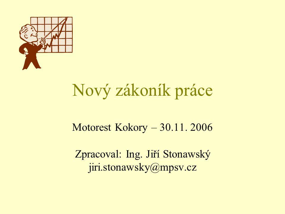 Zpracoval: Ing. Jiří Stonawský