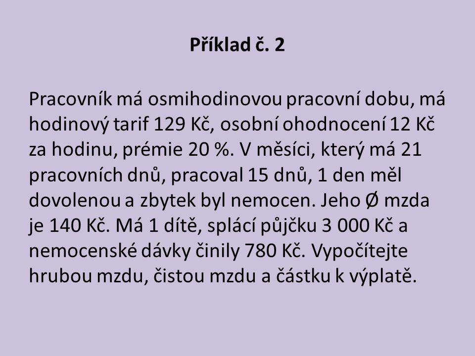 Příklad č. 2