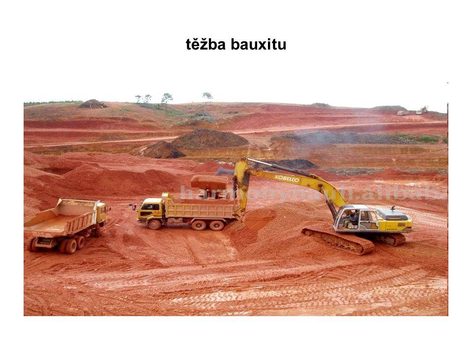 těžba bauxitu
