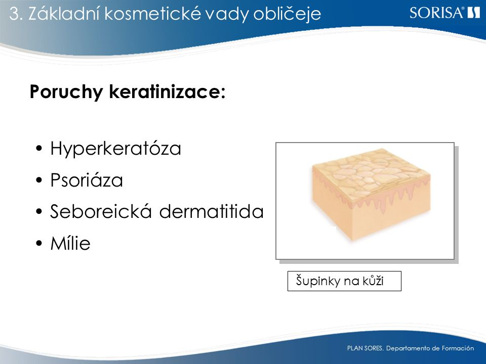 Poruchy keratinizace: