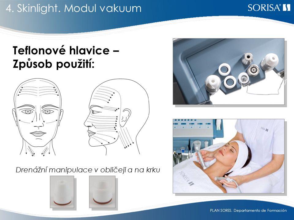 Drenážní manipulace v obličeji a na krku