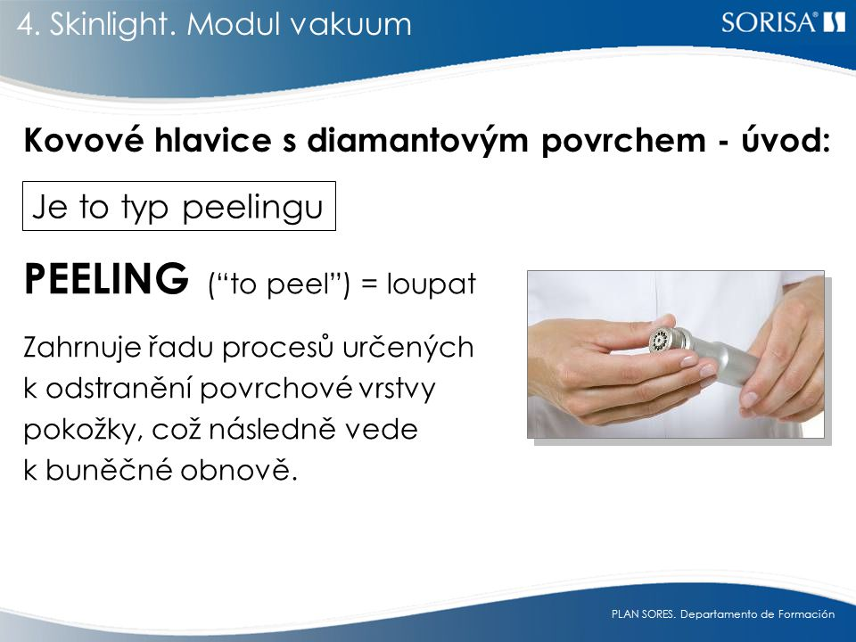 PEELING ( to peel ) = loupat