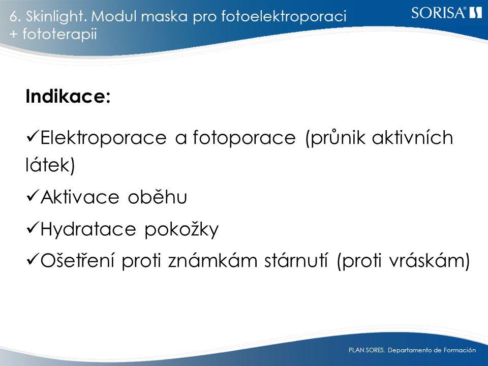 Elektroporace a fotoporace (průnik aktivních látek) Aktivace oběhu