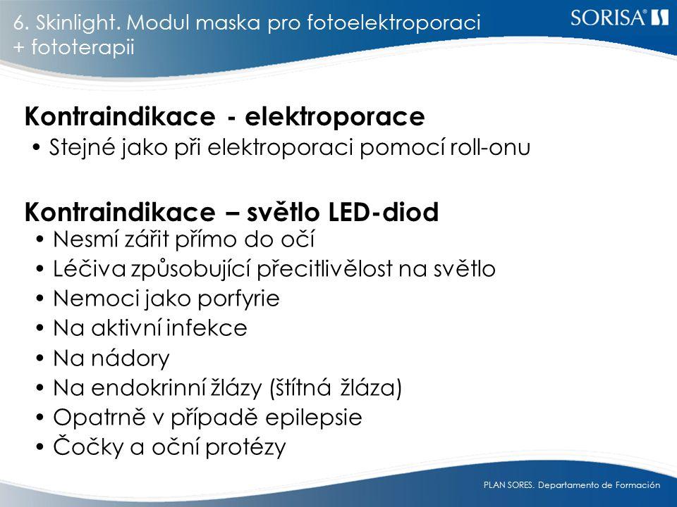 Kontraindikace - elektroporace