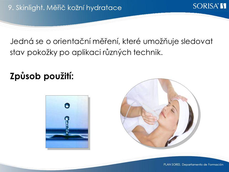 9. Skinlight. Měřič kožní hydratace