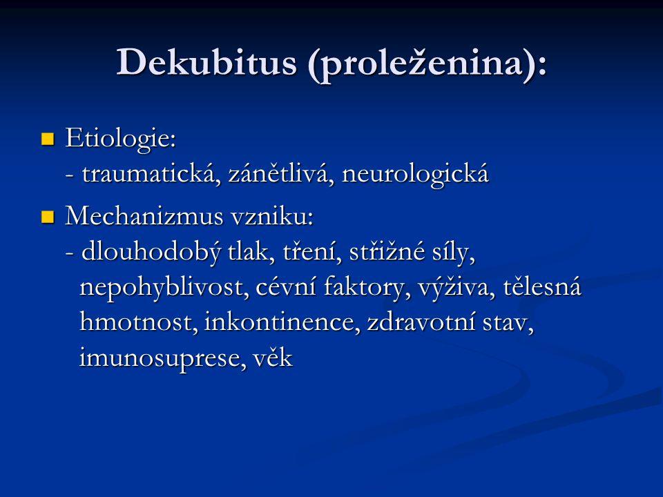 Dekubitus (proleženina):