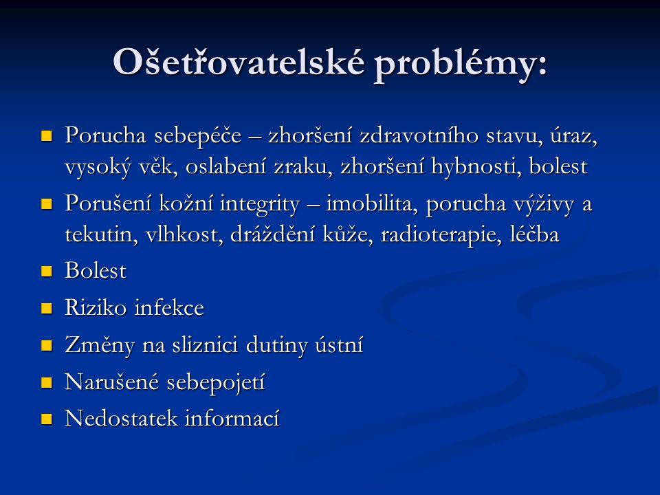 Ošetřovatelské problémy: