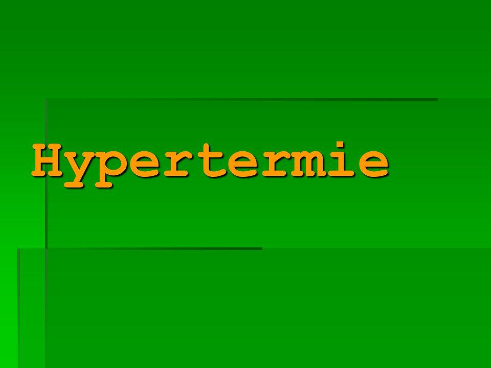 Hypertermie