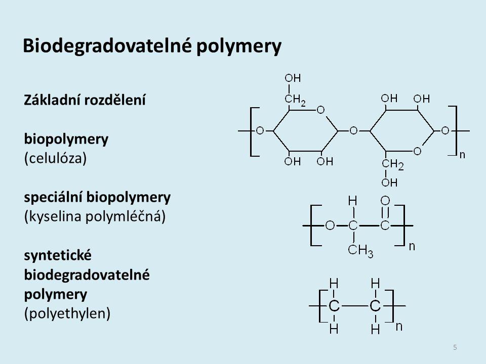 Biodegradovatelné polymery
