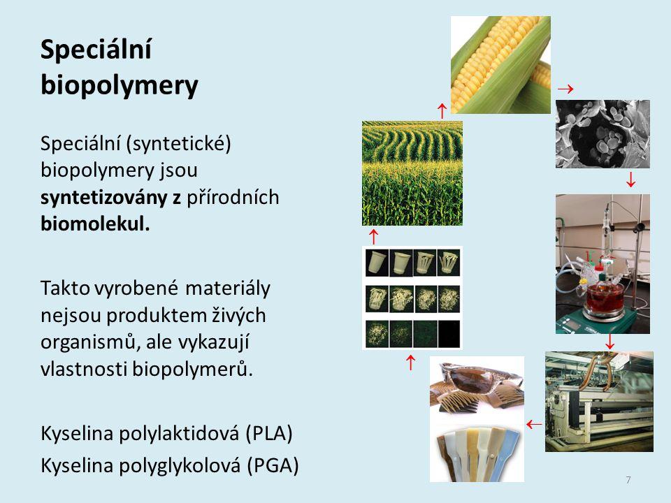 Speciální biopolymery