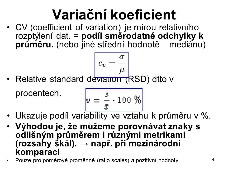 Variační koeficient