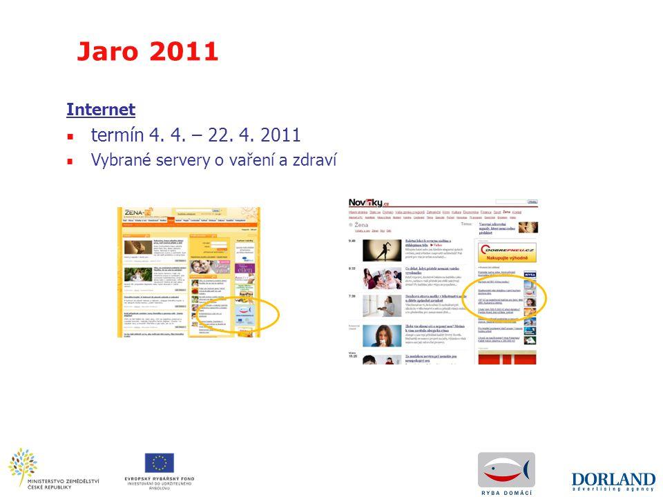 Jaro 2011 Internet termín 4. 4. – 22. 4. 2011 Vybrané servery o vaření a zdraví