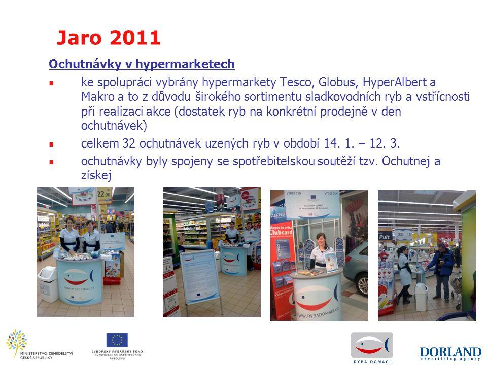 Jaro 2011 Ochutnávky v hypermarketech