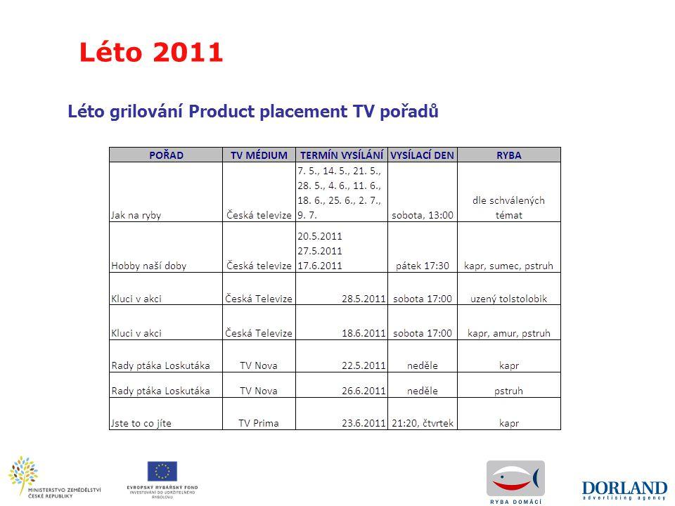 Léto 2011 Léto grilování Product placement TV pořadů