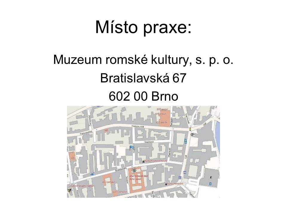 Muzeum romské kultury, s. p. o.