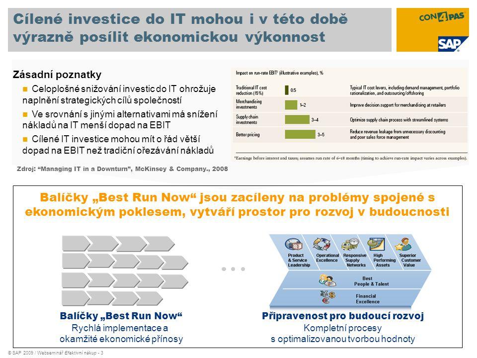 Cílené investice do IT mohou i v této době výrazně posílit ekonomickou výkonnost