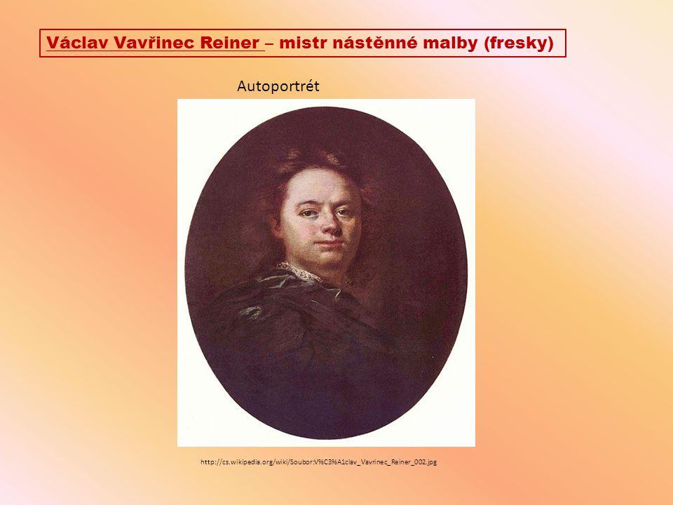 Václav Vavřinec Reiner – mistr nástěnné malby (fresky)