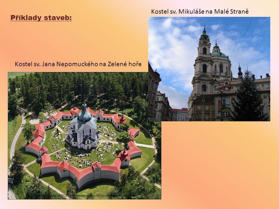 Kostel sv. Mikuláše na Malé Straně Příklady staveb: