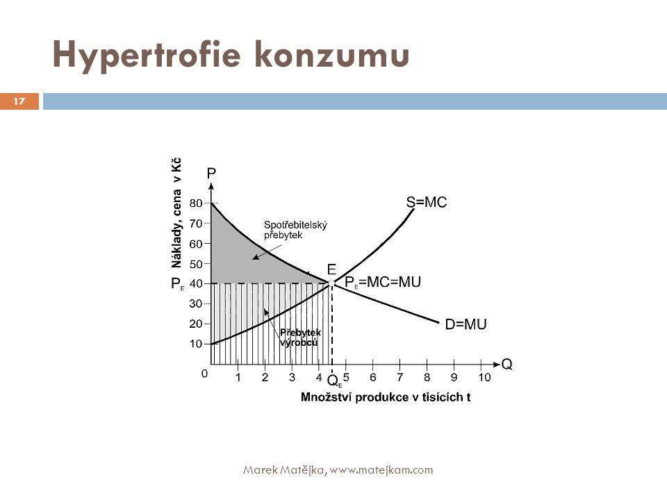 Hypertrofie konzumu Marek Matějka, www.matejkam.com