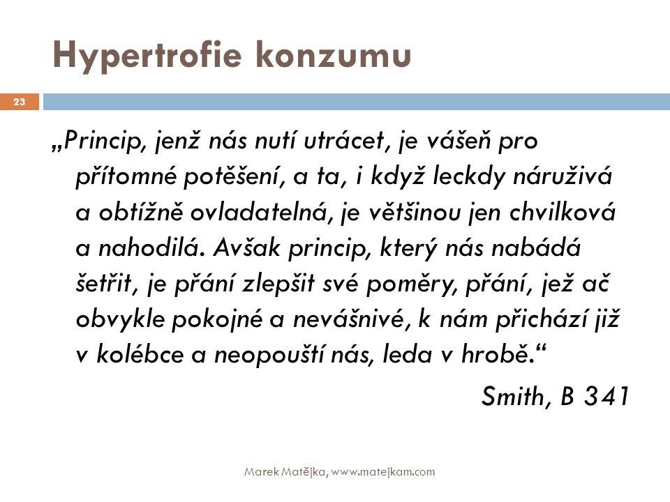 Hypertrofie konzumu