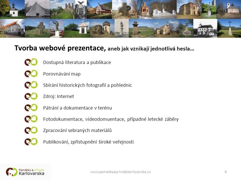 Tvorba webové prezentace, aneb jak vznikají jednotlivá hesla…