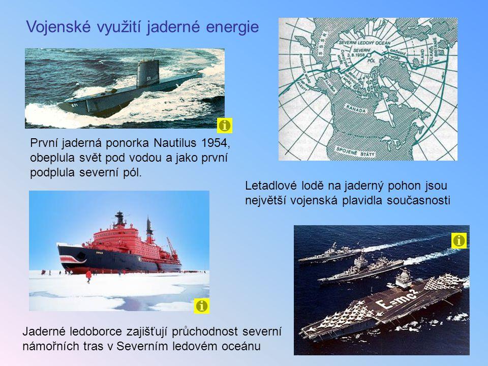 Vojenské využití jaderné energie