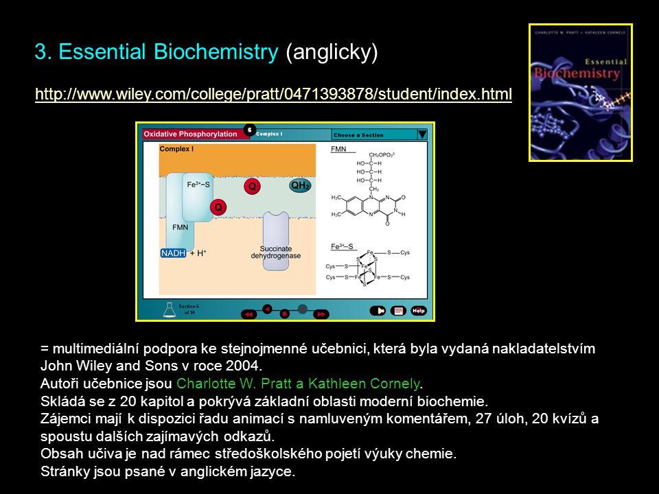 3. Essential Biochemistry (anglicky)