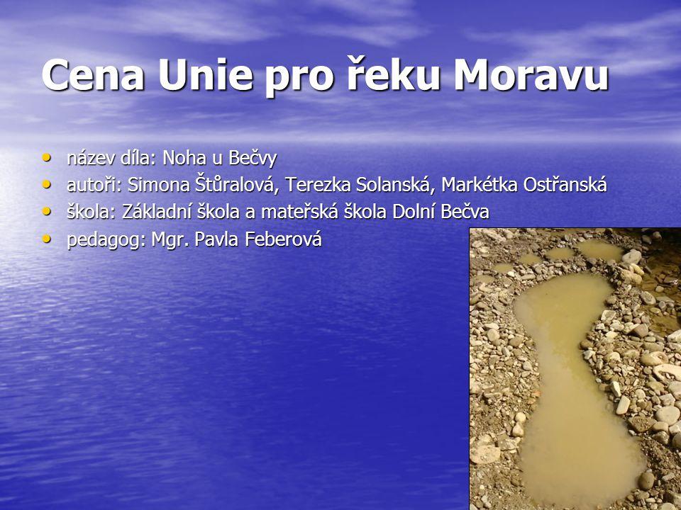 Cena Unie pro řeku Moravu