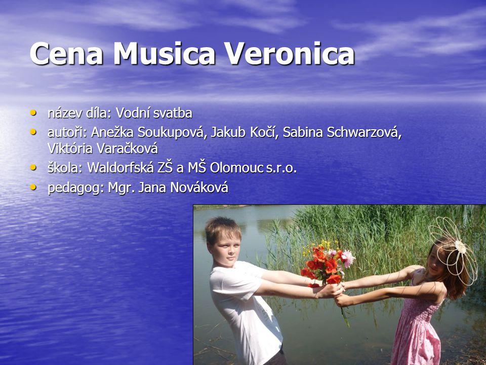 Cena Musica Veronica název díla: Vodní svatba