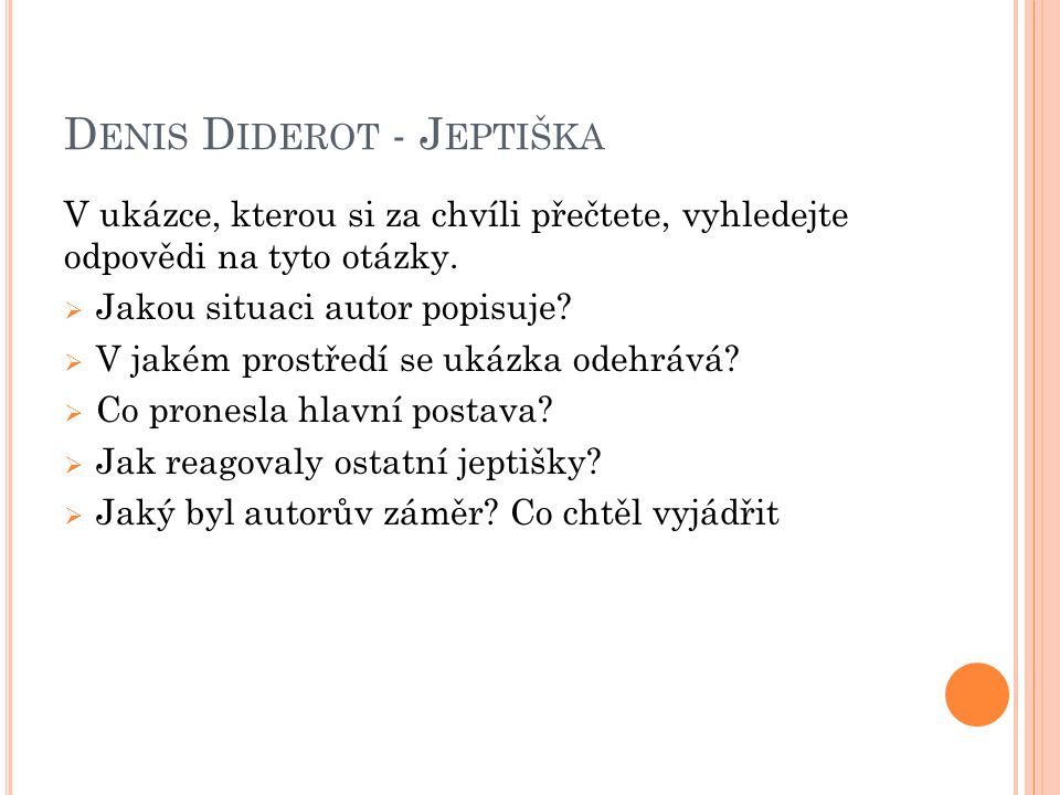 Denis Diderot - Jeptiška