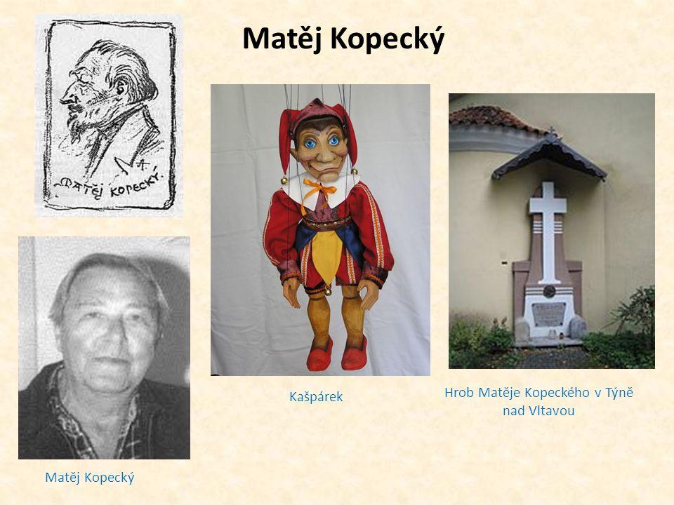 Hrob Matěje Kopeckého v Týně nad Vltavou