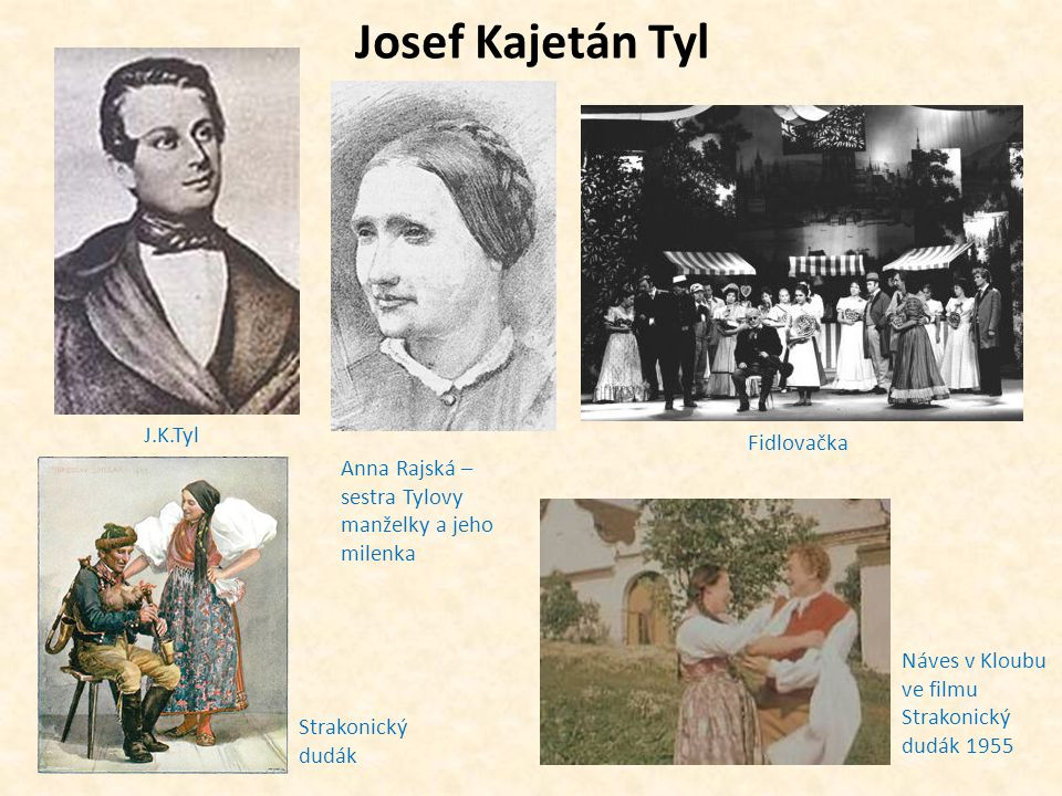 Josef Kajetán Tyl J.K.Tyl Fidlovačka