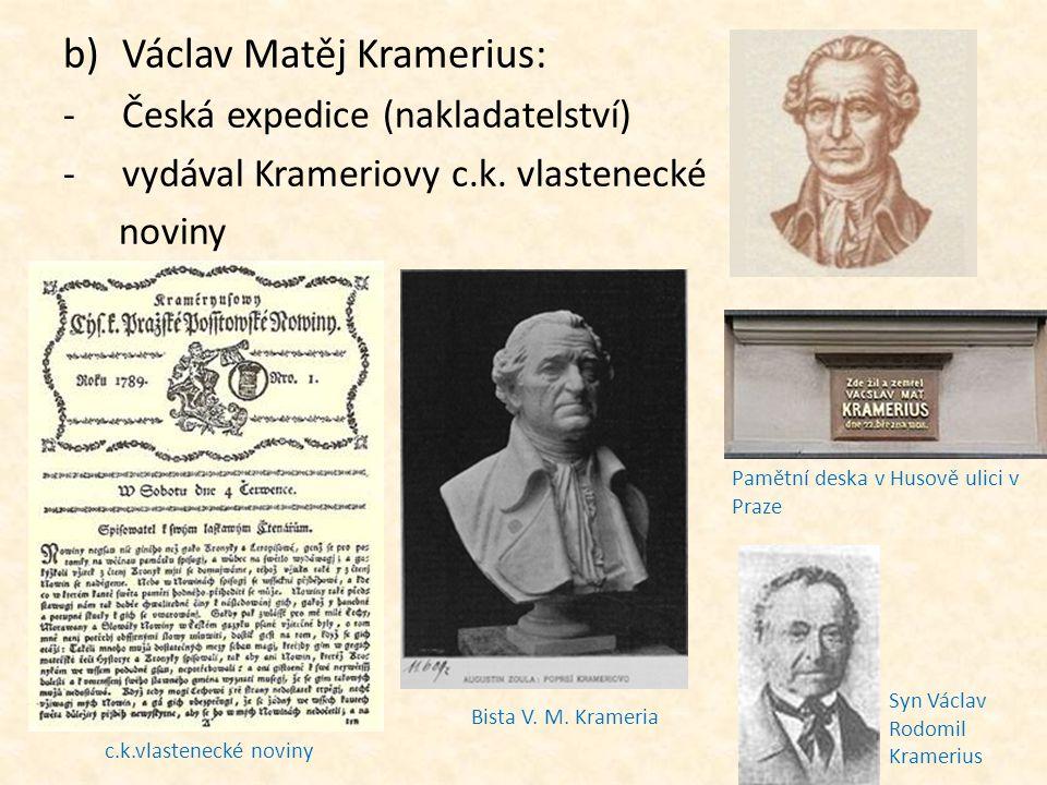 Václav Matěj Kramerius: