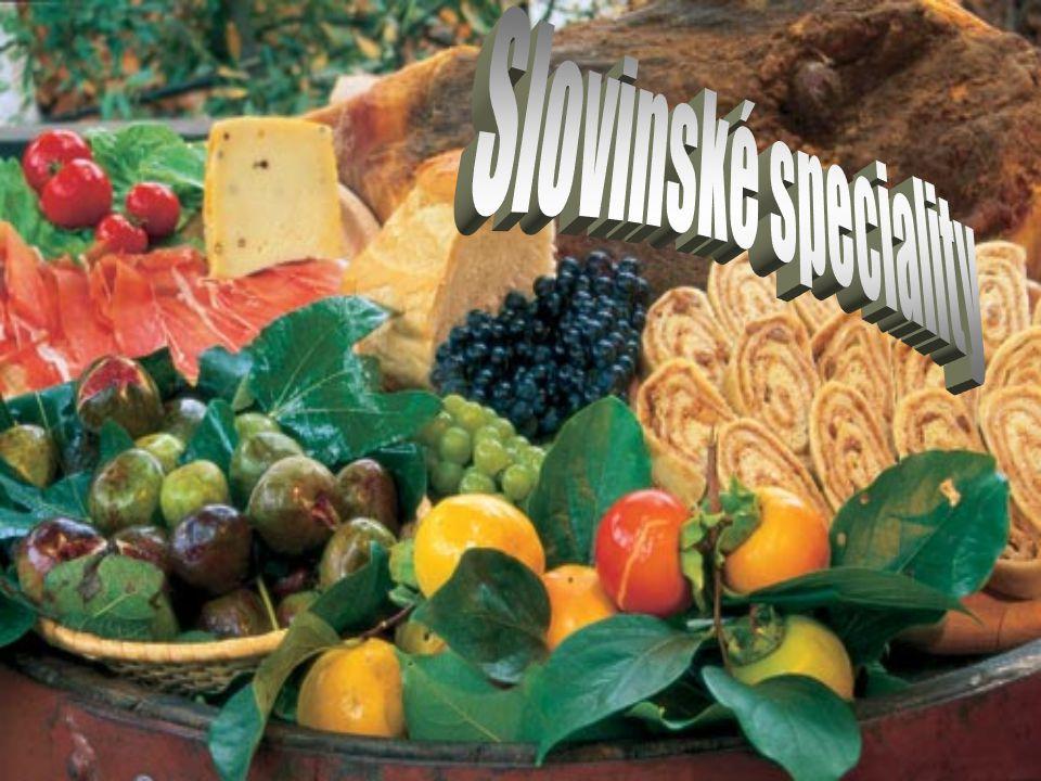 Slovinské speciality