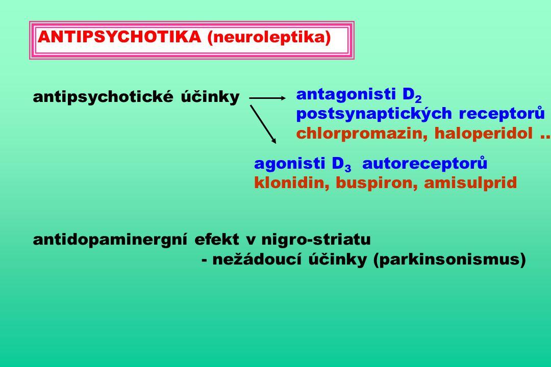 ANTIPSYCHOTIKA (neuroleptika)