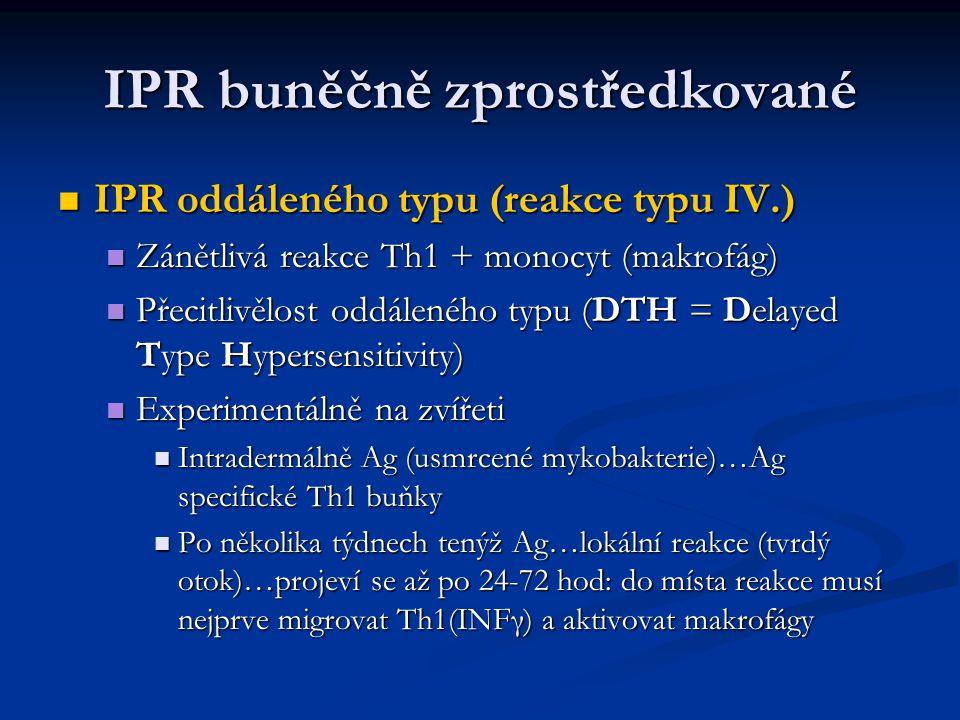 IPR buněčně zprostředkované