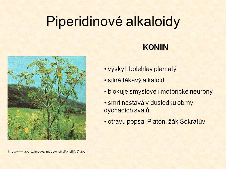 Piperidinové alkaloidy