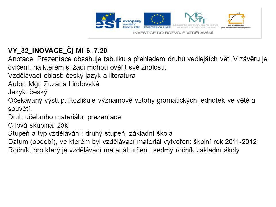 VY_32_INOVACE_Čj-Ml 6.,7.20