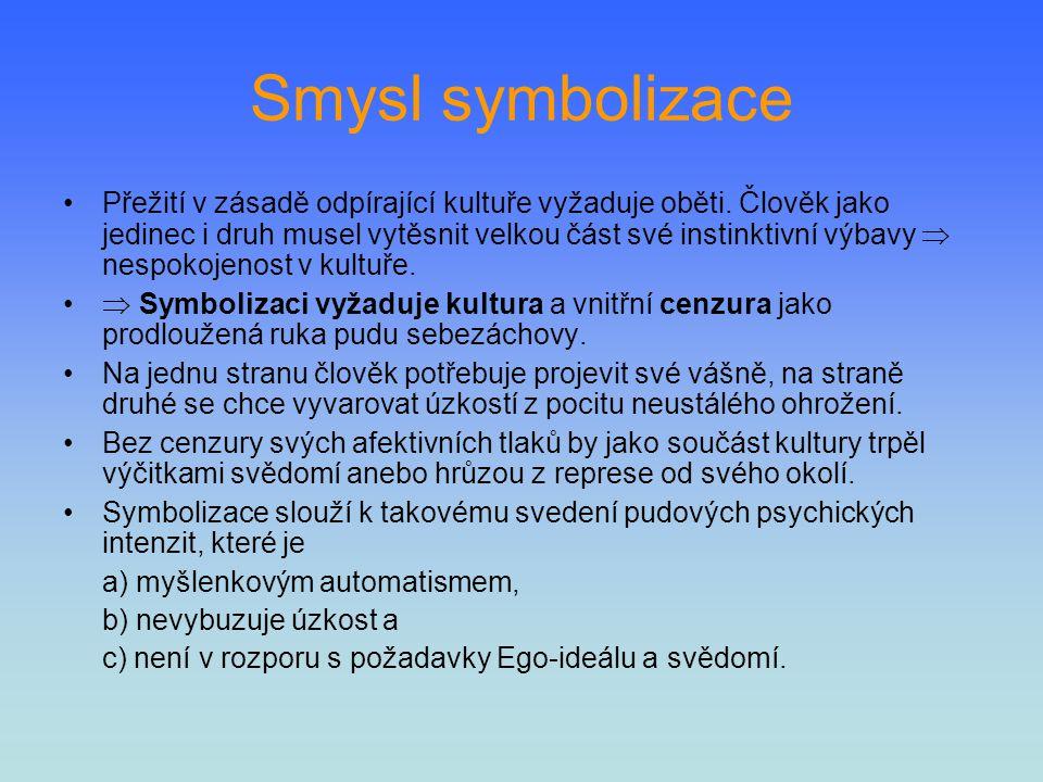 Smysl symbolizace